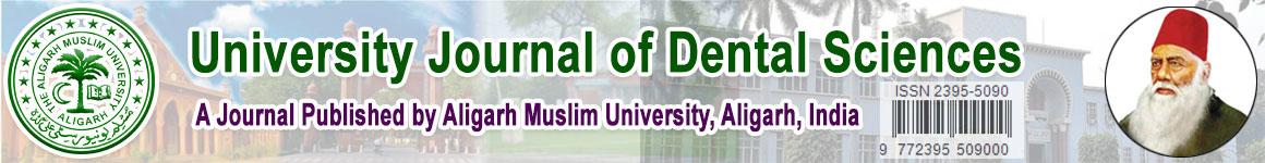 logo university journal of dental sciences